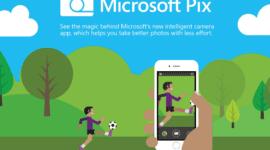 Microsoft Pix – inteligentní aplikace na focení pro iOS