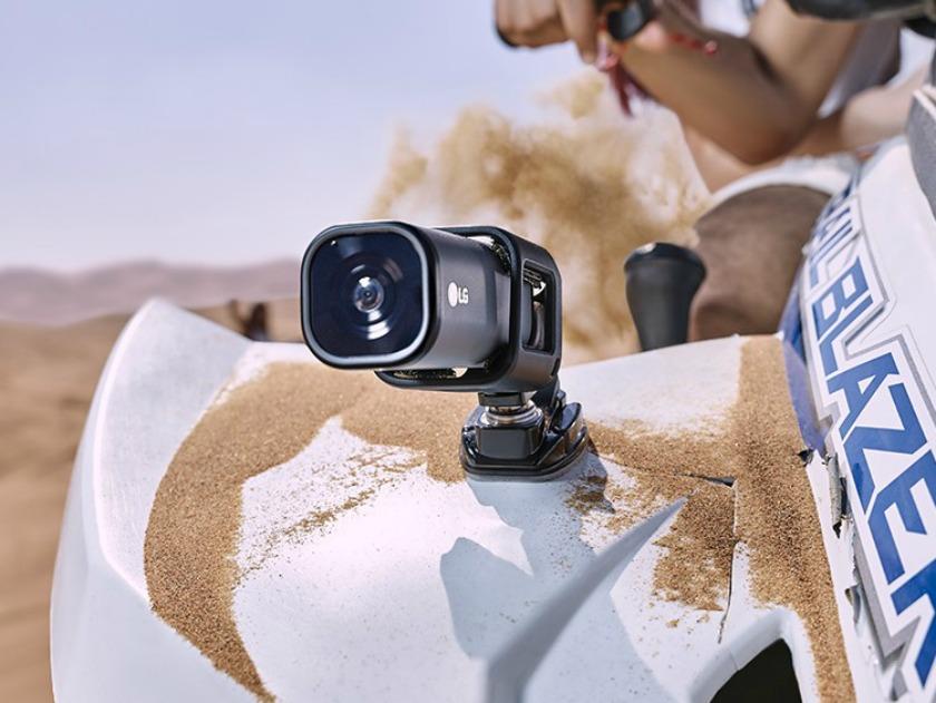LG Action CAM LTE – akční kamera s podporou YouTube Live