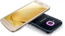 Galaxy J2 (2016) se Smart Glow