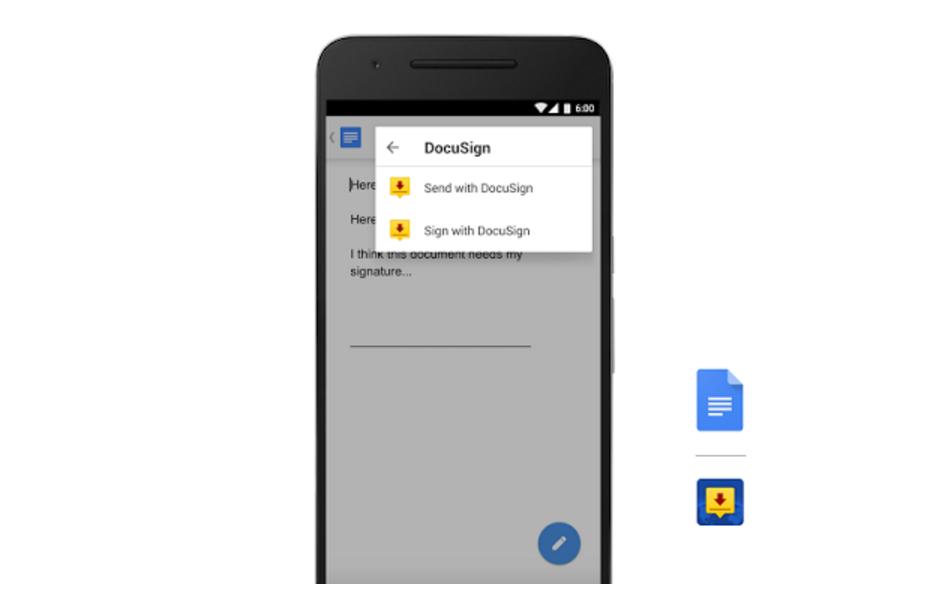 Google Dokumenty a Tabulky získávají doplňky [Android]