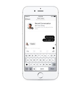 Secret Conversation — iOS