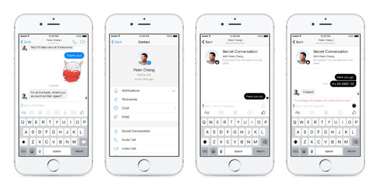 Facebook Messenger testuje