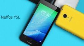 TP-LINK představil 4. smartphone – Neffos Y5L