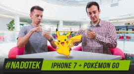 Na Dotek - Apple iPhone 7 a Pokémon GO