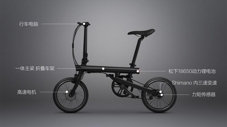 Xiaomi QiCycle – první chytré kolo na elektriku do města