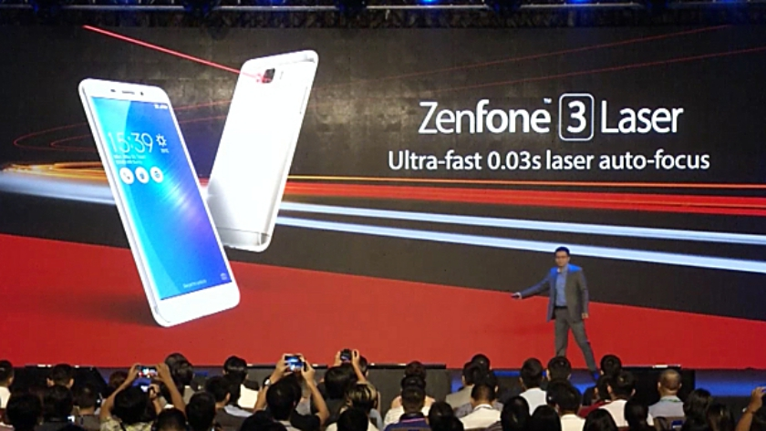 Asus oficiálně uvolnil Zenfone 3 Laser a Zenfone 3 Max