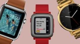 Trh s chytrými hodinkami - meziroční pokles o 32 %
