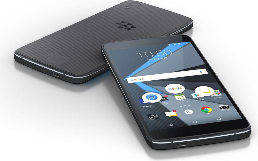 BlackBerry představilo DTEK50