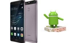 Android 7.0 zachycen pro Huawei P9 (beta)