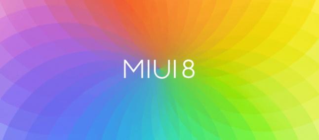 MIUI 8 Beta dostupná pro některá zařízení