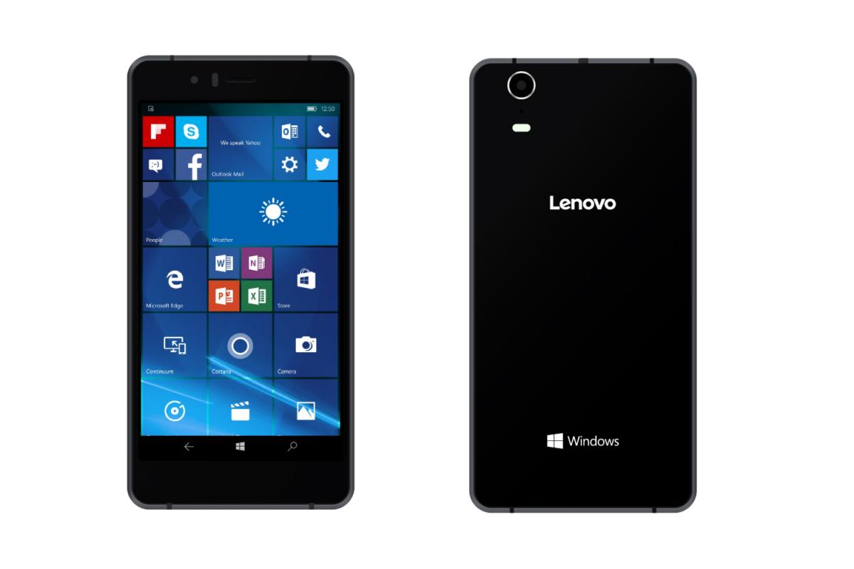 Lenovo ukázalo svůj první telefon s Windows 10 Mobile