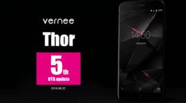 Vernee Thor dostává pátou aktualizaci, přináší drobná vylepšení