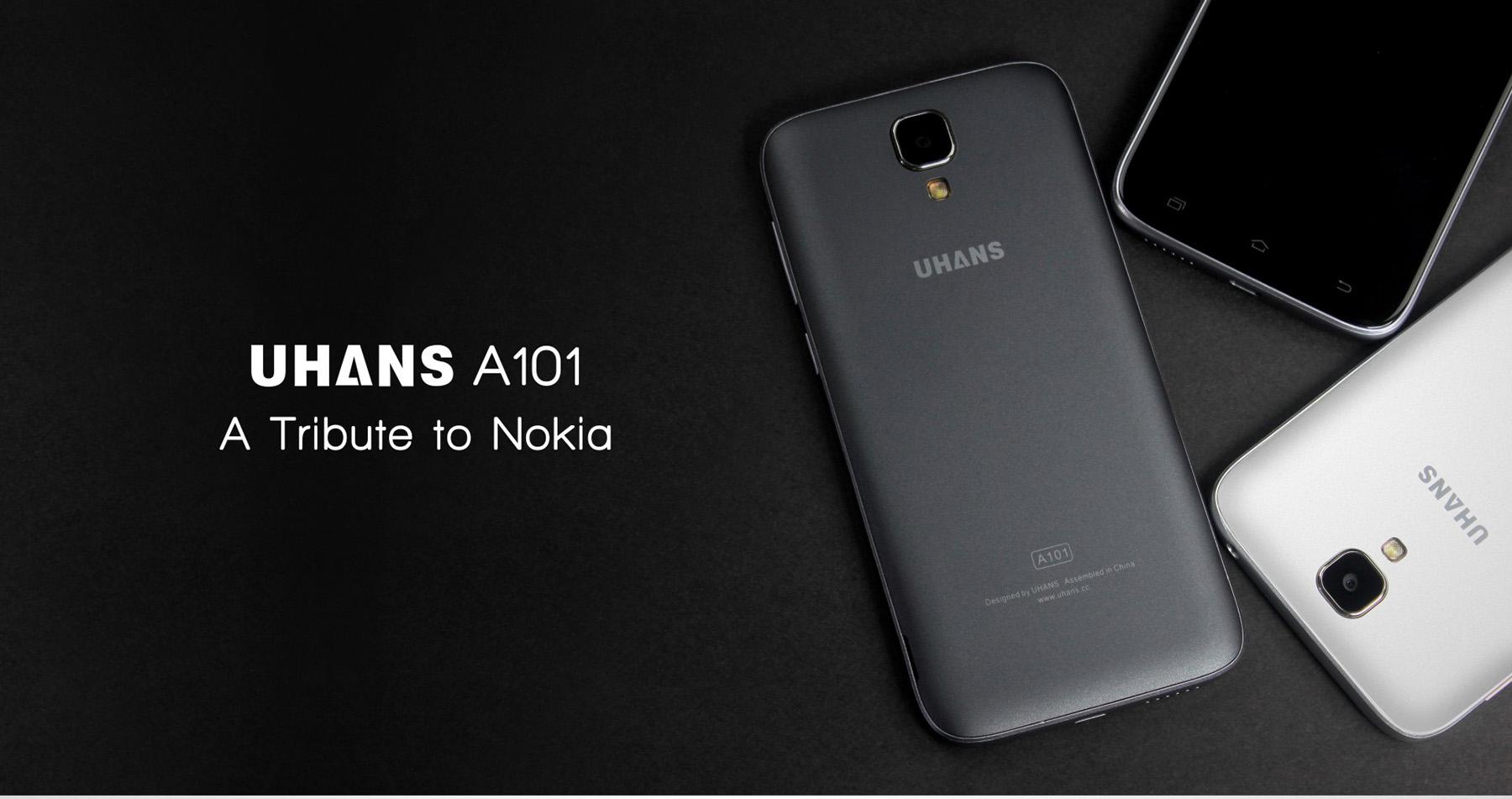 Uhans A101 – záložní, pracovní či první telefon [sponzorovaný článek]