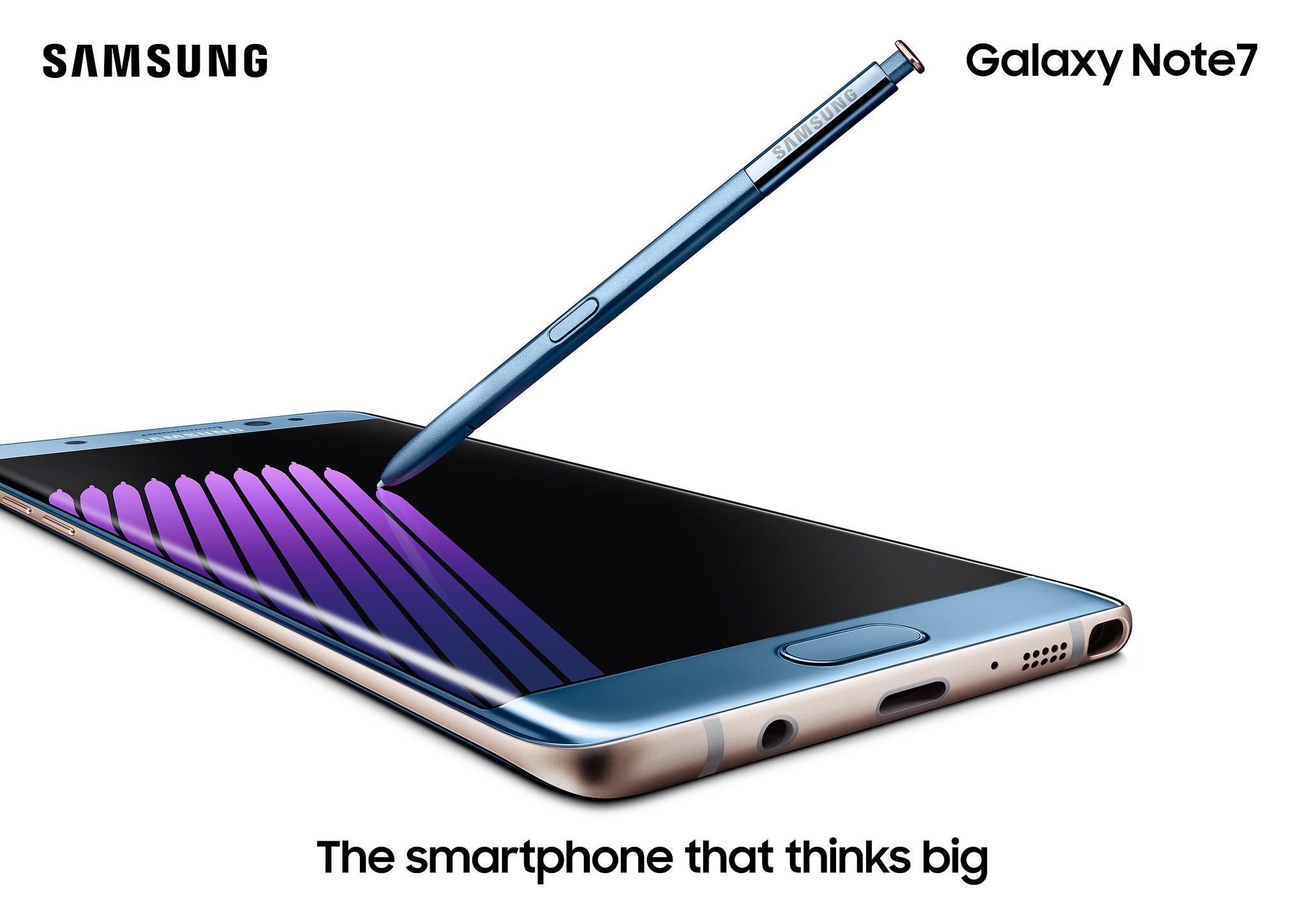 Samsung Galaxy Note7 oficiálně