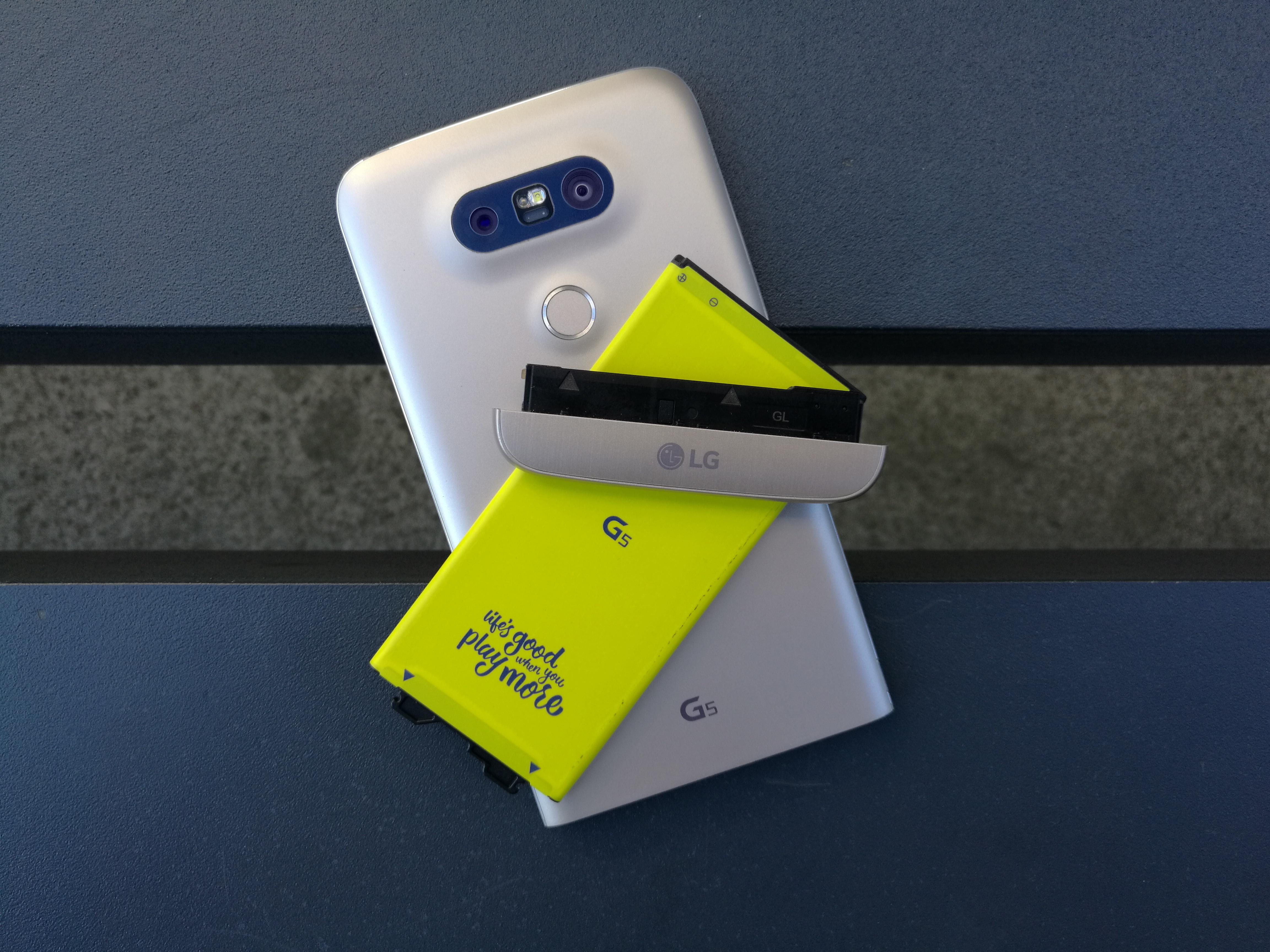 LG G5 získává preview verzi Androidu 7 Nougat