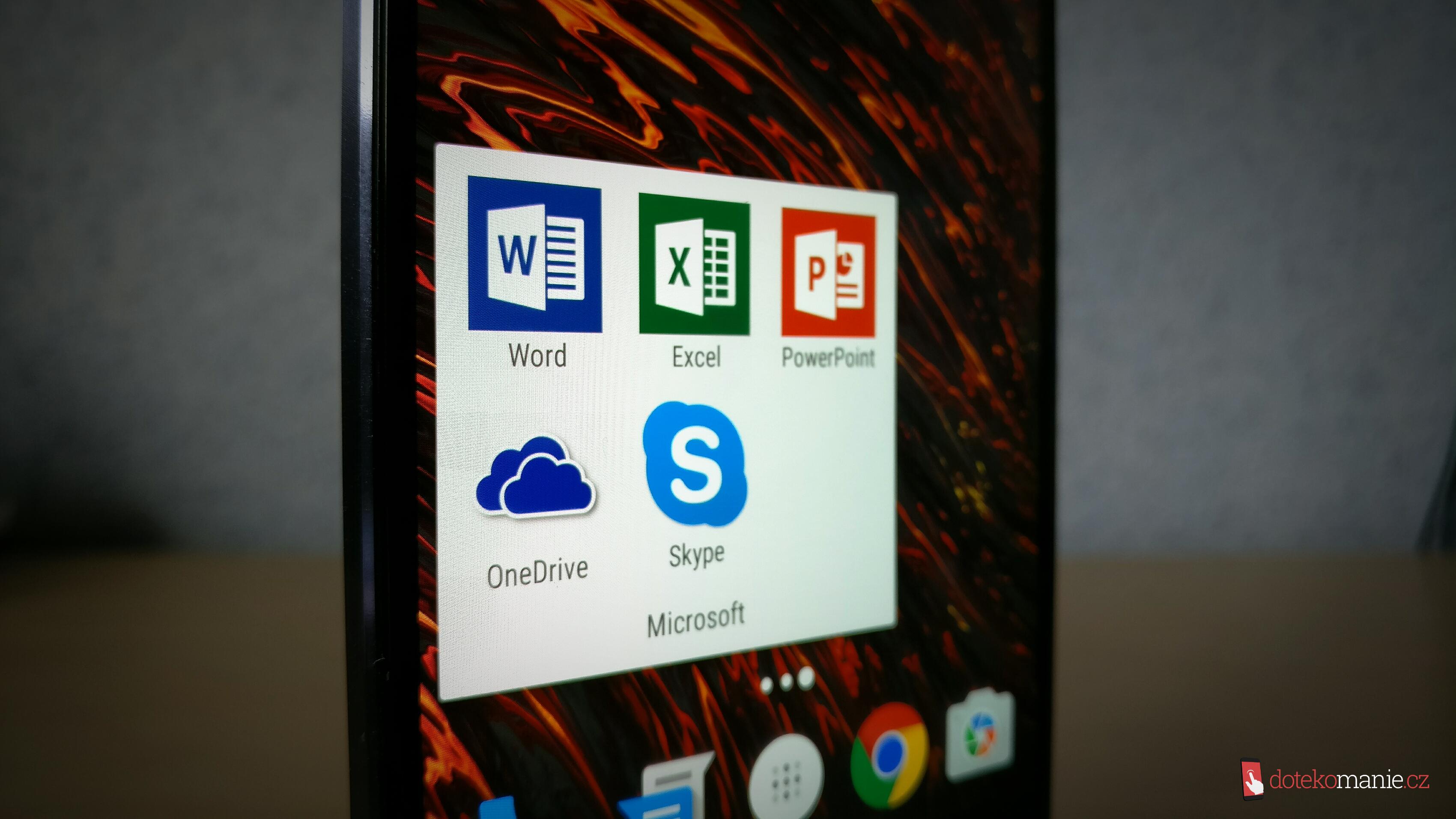 Microsoftí aplikace budou předinstalované na telefonech Lenovo