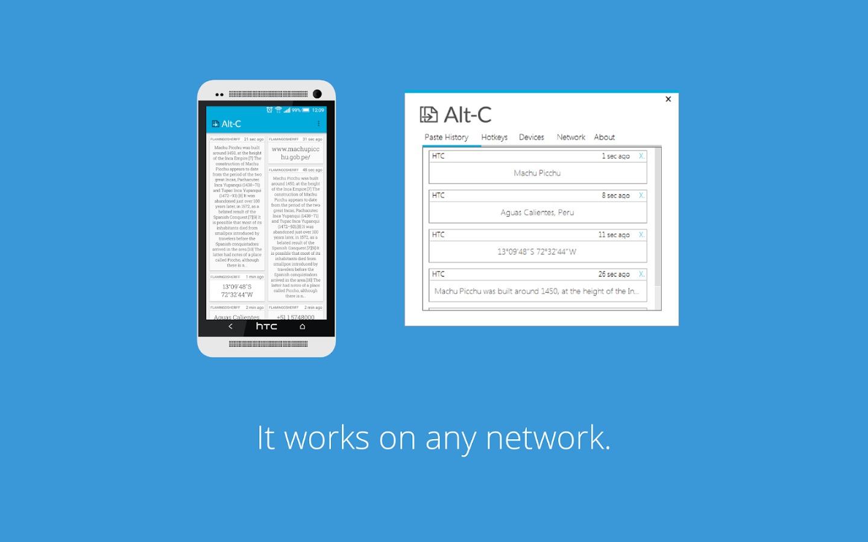 Alt-C – kopírujte odkazy přímo do mobilu