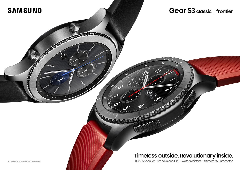 Hodinky Samsung Gear S3 se dočkaly nové aktualizace, změn je opravdu mnoho
