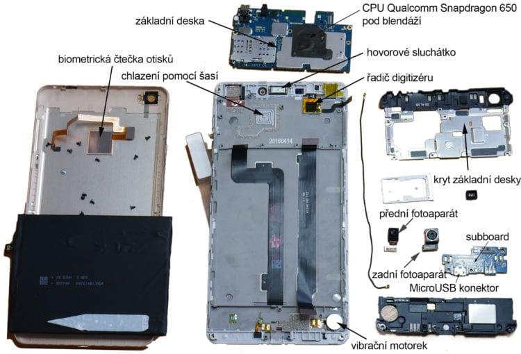 Xiaomi Mi Max - díly-1