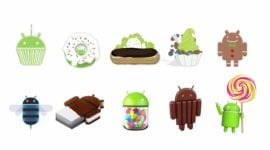 Android Statistika – Gingerbread má větší zastoupení než Ice Cream Sandwich