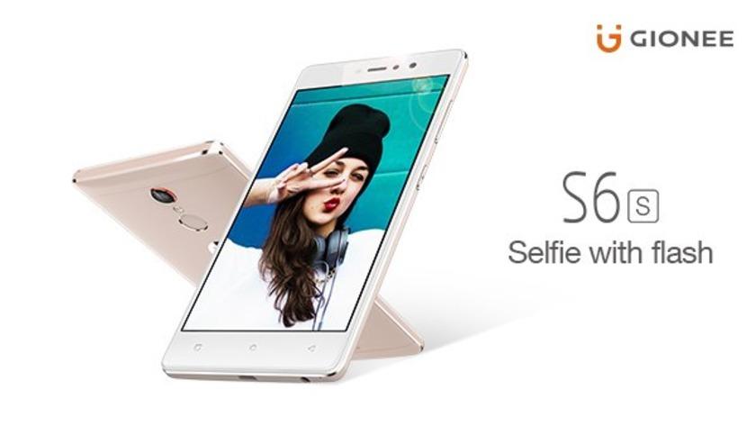Gionee S6s – nový selfie model koncem srpna