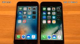 Podívejte se na srovnávací video mezi iOS 10 Beta 4 a iOS 9.3.3