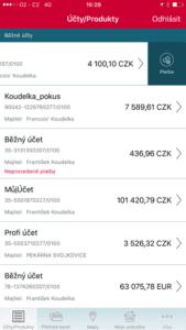 mobilni-banka-ios-prehled-uctu