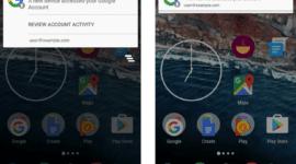 Google vylepšuje oznámením o přidání nového zařízení