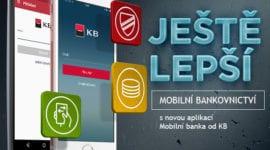 Komerční banka uvede novou mobilní aplikaci