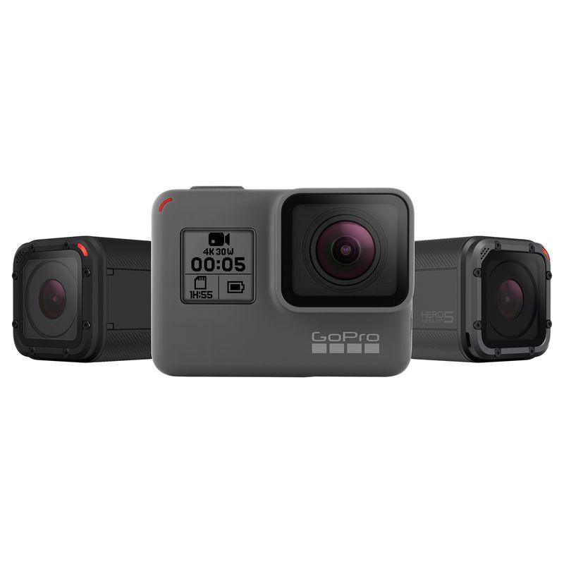 GoPro představilo dvě nové akční kamery, Hero 5 Black a Hero 5 Session