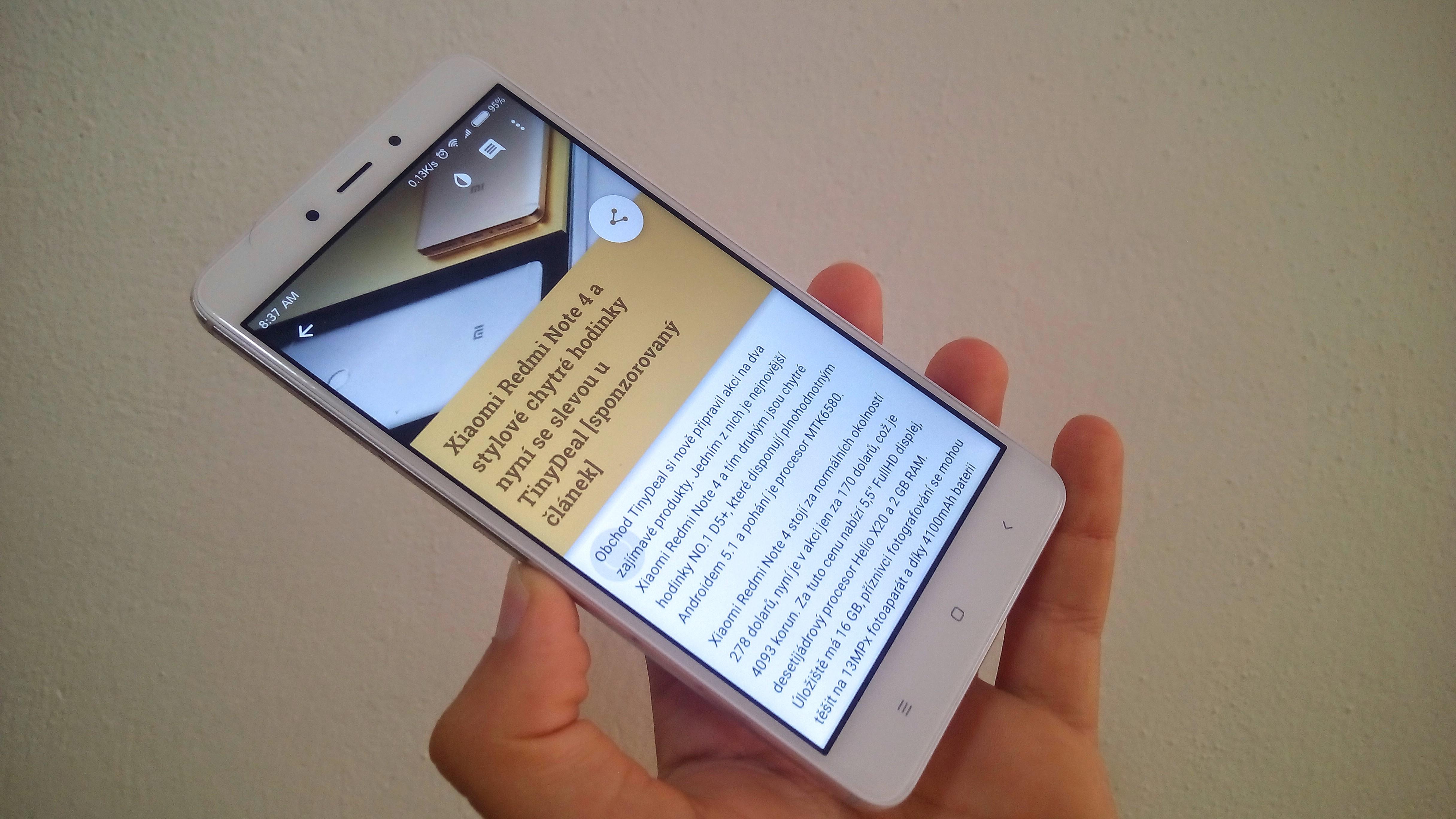 Ochutnávky #40 – Xiaomi Redmi Note 4