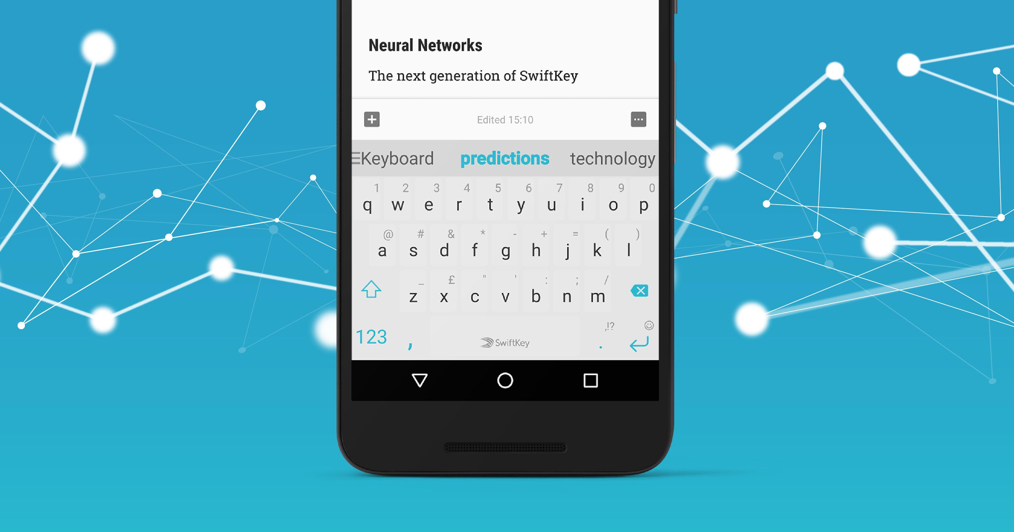 Klávesnice Swiftkey bude nově poháněna neuronovou sítí