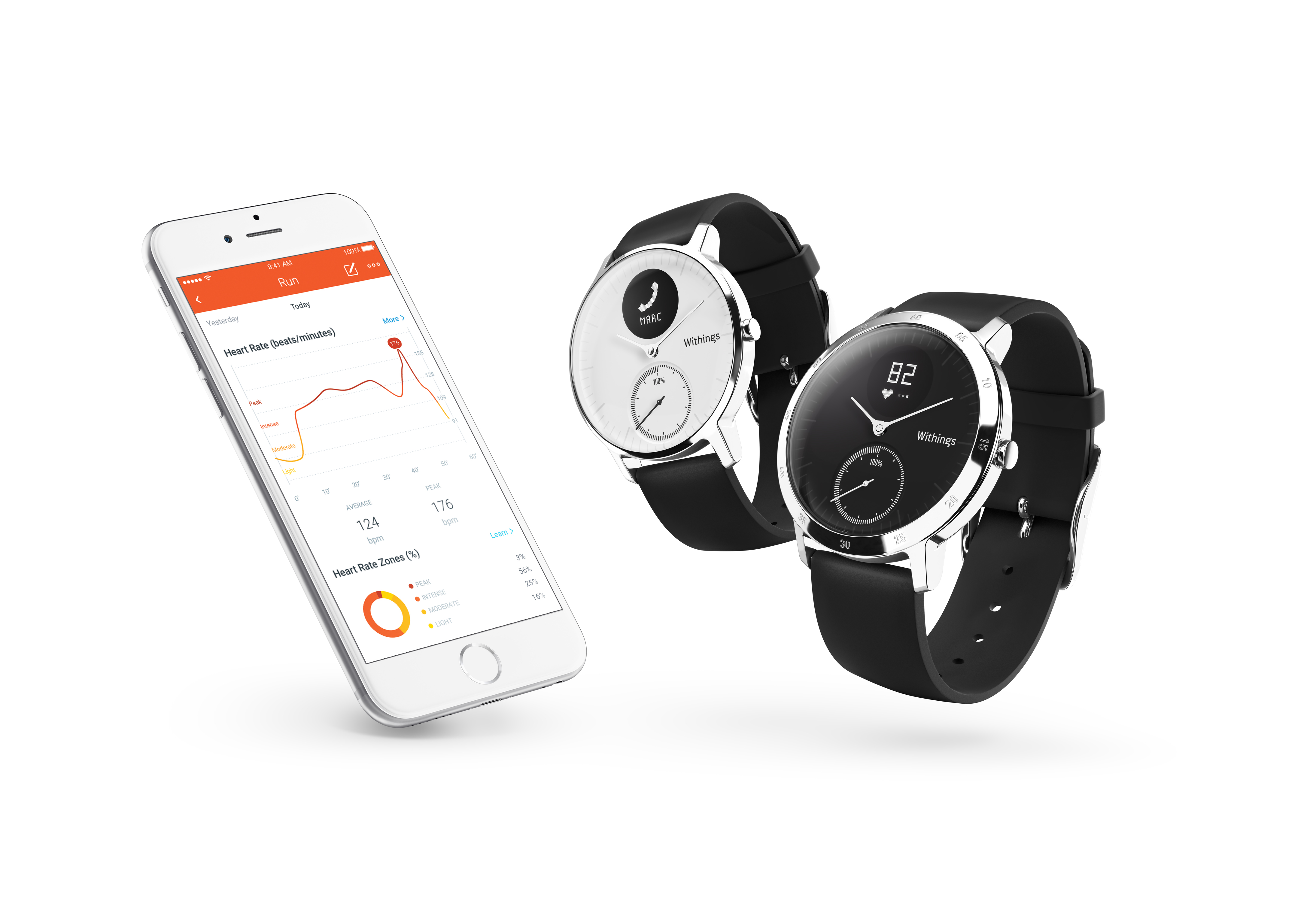 Withings Steel HR – analogové hodinky se senzorem srdečního tepu a dlouhou výdrží