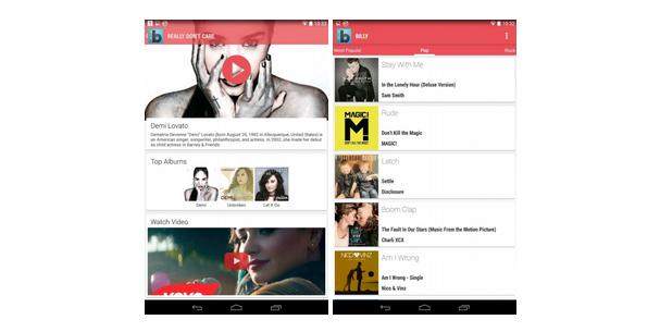 Mějte přehled o aktuálním žebříčku hudebních hitů [Android]