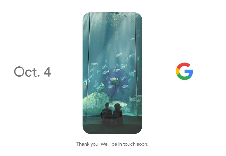 Oficiálně: Google zve na 4. říjen [video]