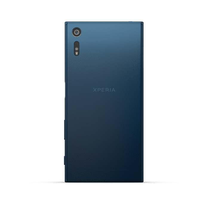 Sony XZ Forest Blue Back