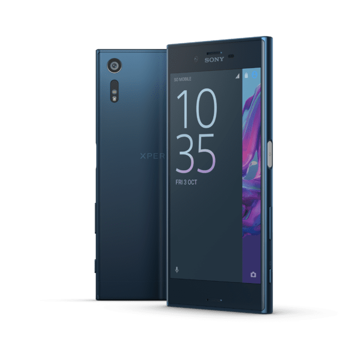 Sony XZ Forest Blue Group 1