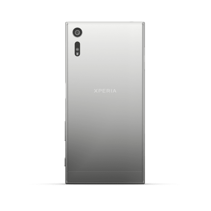 Sony XZ Platinum Back