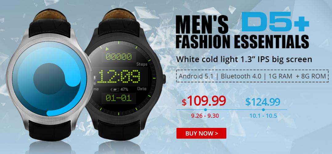 NO.1 D5+ – stylové hodinky s vychytanými funkcemi [sponzorovaný článek]