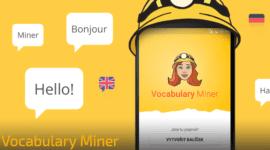 Naučte se slovní zásobu jednoduše s aplikací Vocabulary Miner