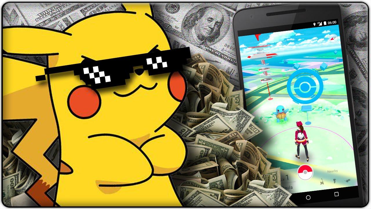 Pokémon GO – půl miliardy dolarů za 60 dnů