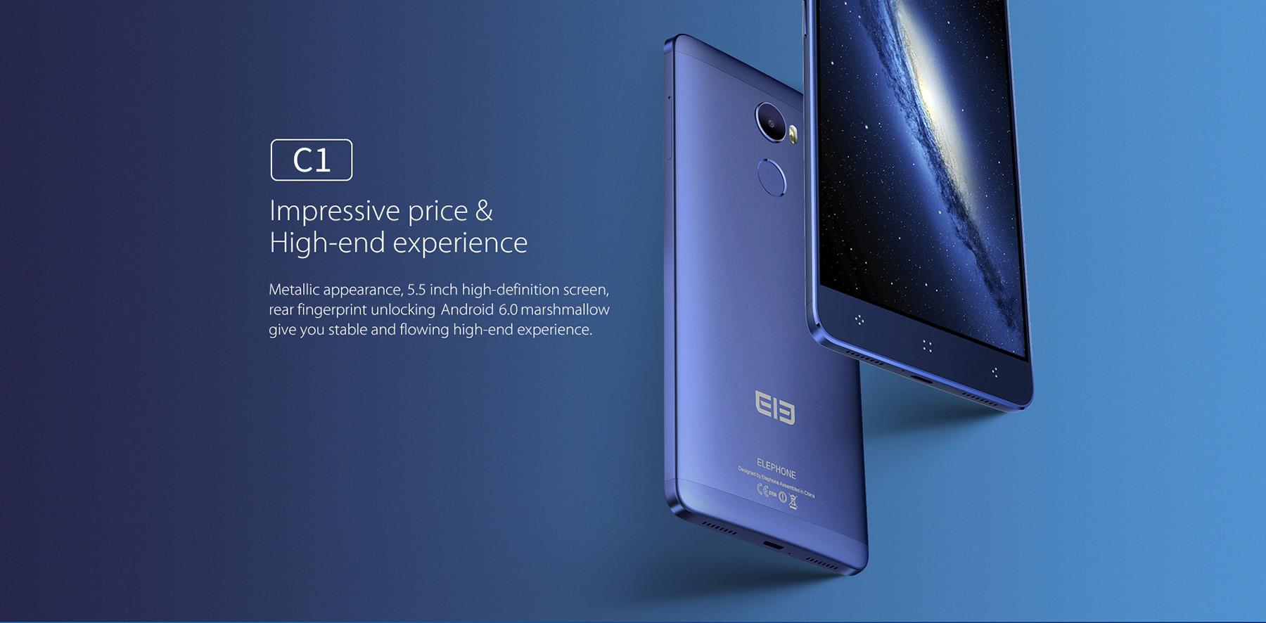 Elephone C1 – podpora všech LTE a výkonný hardware [sponzorovaný článek]