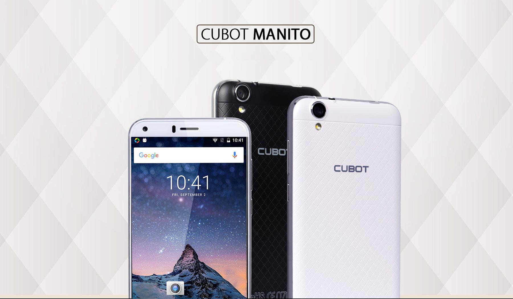 Cubot Manito od Gear Bestu [sponzorovaný článek]