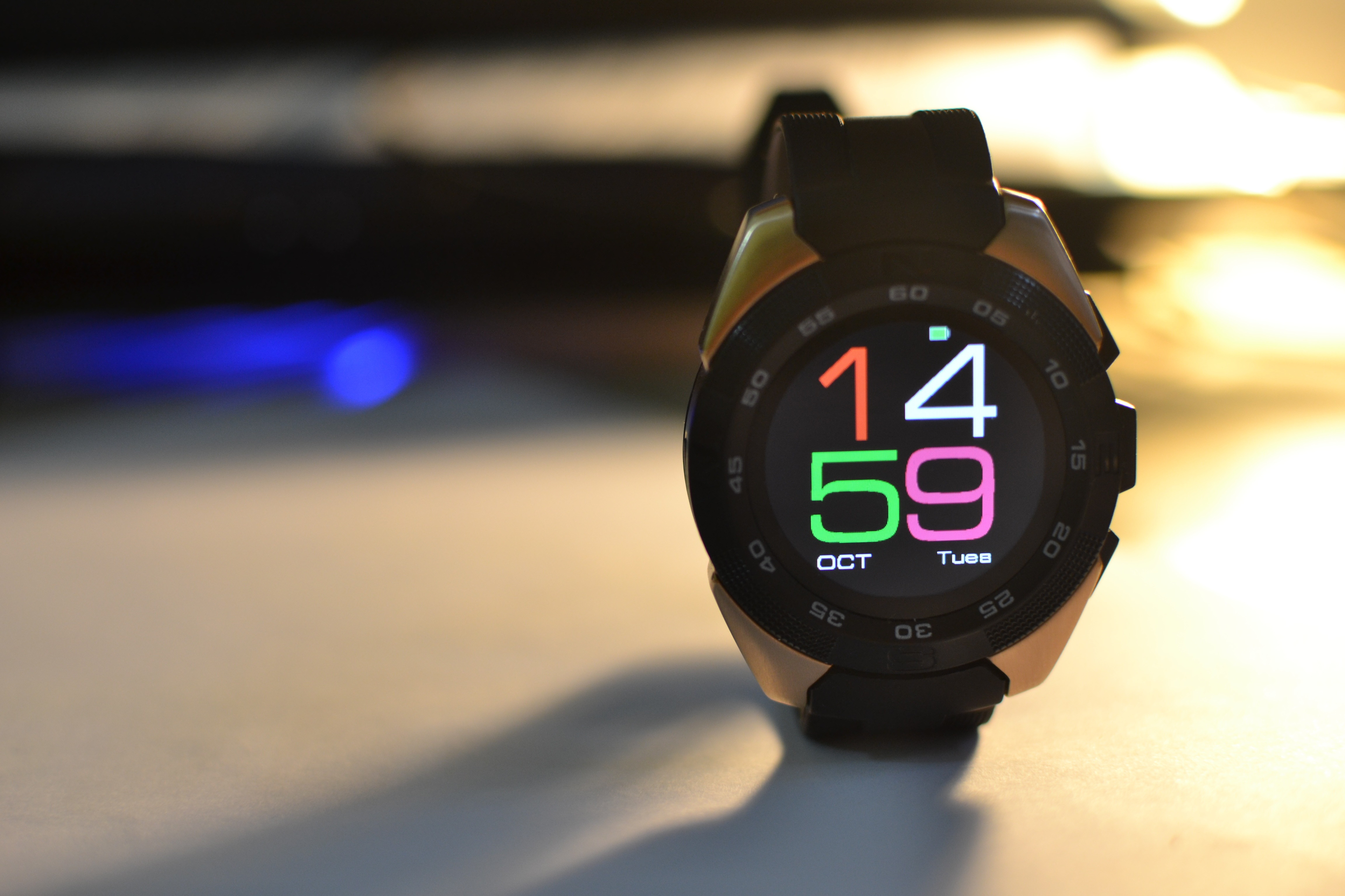 Chytré hodinky NO.1 G5 za tisíc korun [minirecenze]