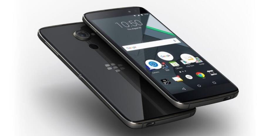BlackBerry oficiálně odhalilo DTEK60