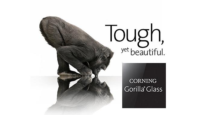 Sklo Gorilla Glass 5 je dostatečně tvrdé