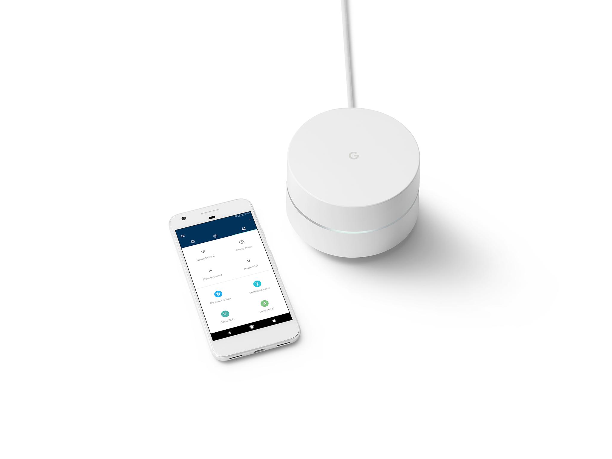 Google Wifi – chytrý router pro každou domácnost