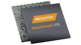 MediaTek nahrazuje Helio P10 za P15