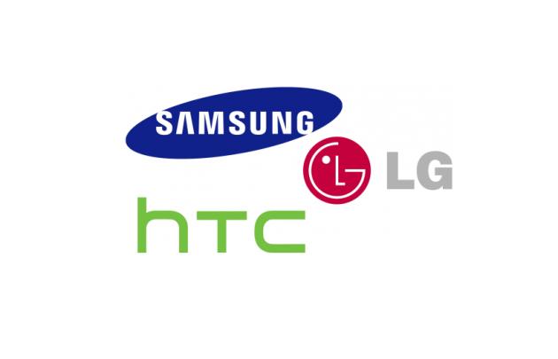 Finanční výsledky Samsungu, HTC a LG