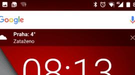 Google si pohrává s vlastním widgetem